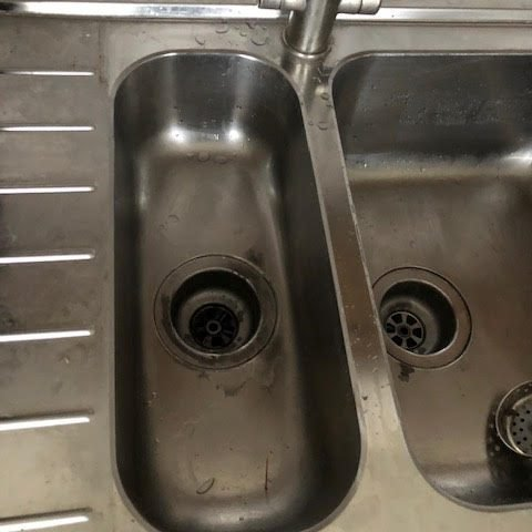 after - Kitchen Sink Unblock and Repair in Haggerston