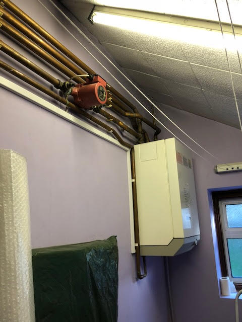 before - Boiler Service in London