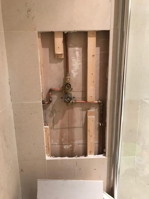 during - New Shower Valve Installation in Rotherhithe