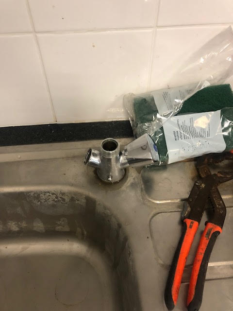 during - Kitchen Tap Repair & Fault Diagnosis in Hackney