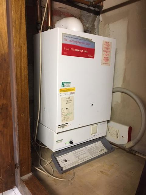 during - Boiler Service, Gas Safety and Radiator Leak Repair