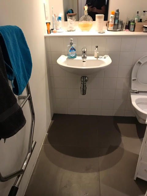 after - Leaking Bathroom Sink Repair in Southwark