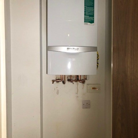after - New Combination Boiler Installation