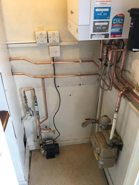 after - New Boiler Installation in Bow
