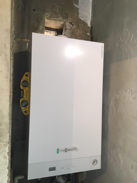 during - New Viessman Boiler Installation in Chalk Farm
