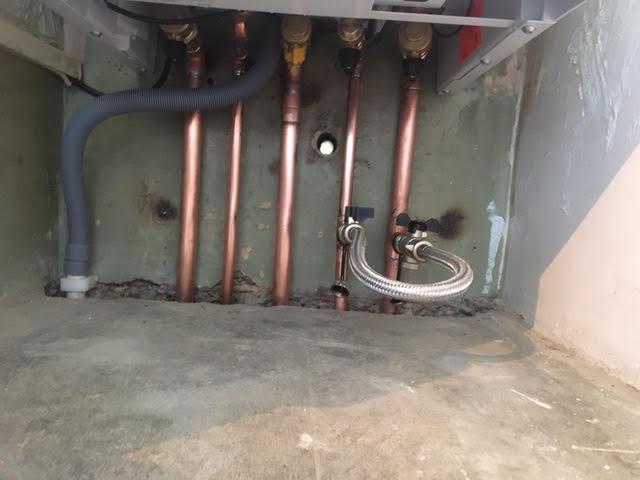 during - New Viessman Boiler Installation in Chalk Farm
