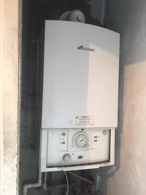 before - New Viessman Boiler Installation in Chalk Farm