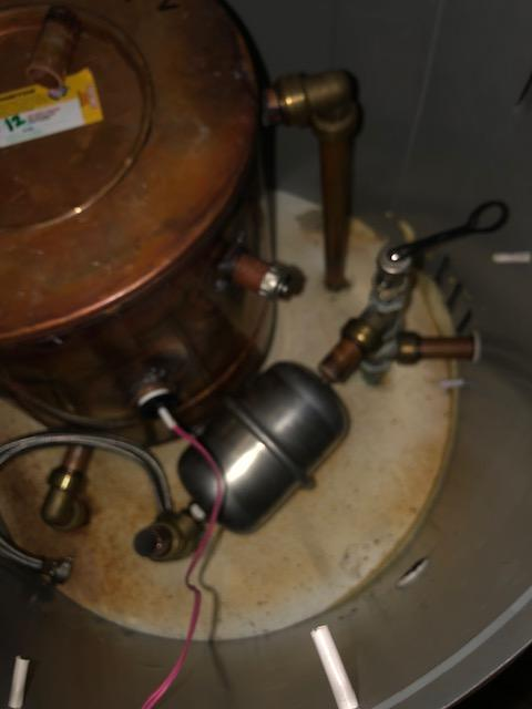 before - Replaced Thermal Store Unit Temperature Valve in Bow