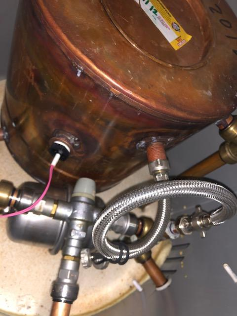 after - Replaced Thermal Store Unit Temperature Valve in Bow