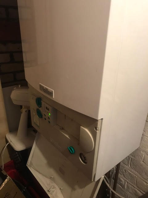 during - Boiler Fan Replacement in Southwark