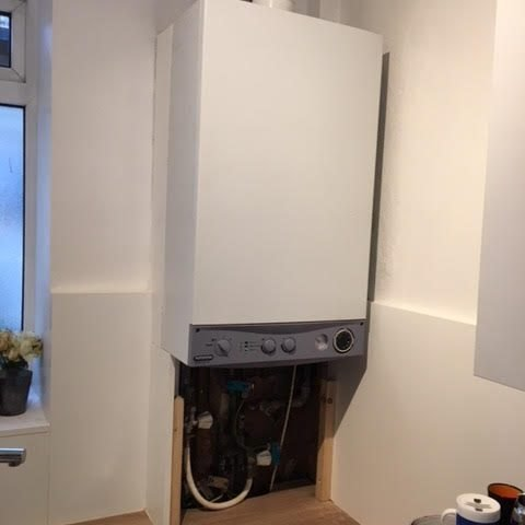 after - Boiler Hot Water Diversion Replacement in Hoxton
