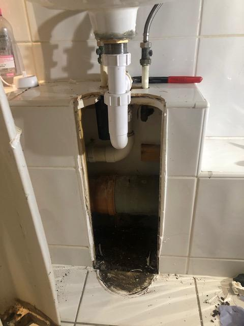 during - New Taps Replacement and Leak Repair in Shadwell