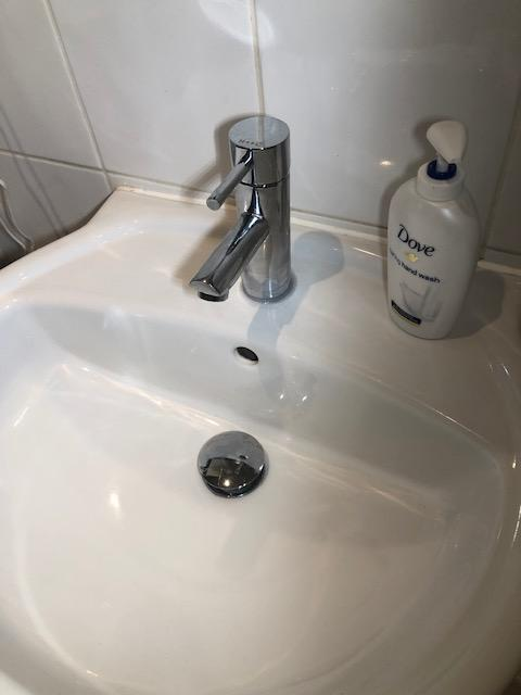 after - New Taps Replacement and Leak Repair in Shadwell