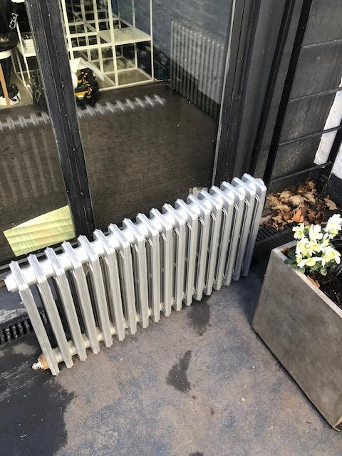 during - Replaced Radiator in Islington