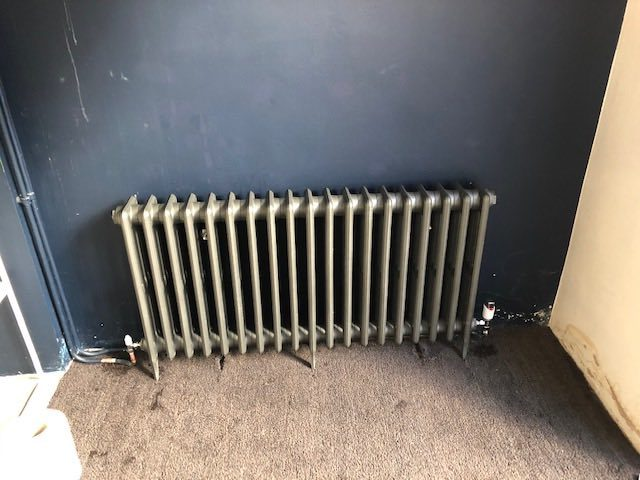 after - Replaced Radiator in Islington