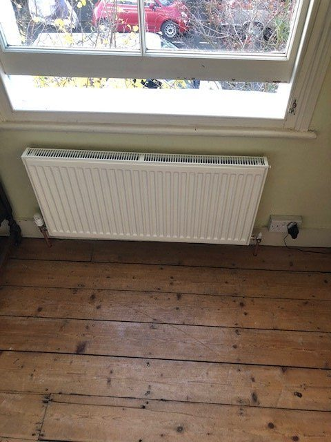 after - New Radiator Installations in London