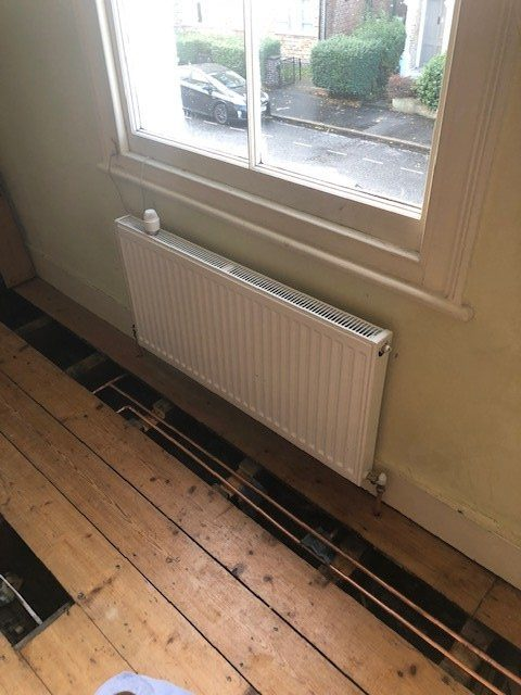 during - New Radiator Installations in London